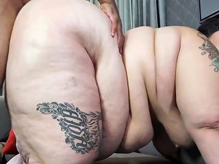 Kinky Obese Bbw Crystal Blue Delivery Out Of The Blue Cumshot