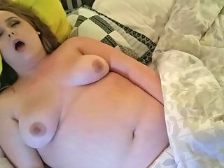 Hot Big Belly Bbw Cums For You