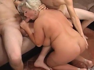 Bbw Big Boobs Mom Anal And Double Penetration
