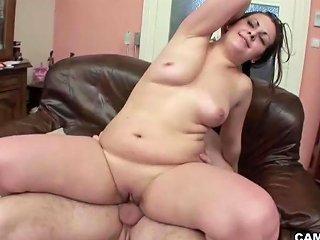 Step Dad With Big Dick Fucks German Bbw Teen When Mom Away